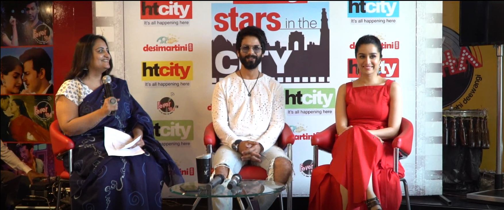 Shahid Kapoor and Shraddha Kapoor for Batti Gul Meter Chalu