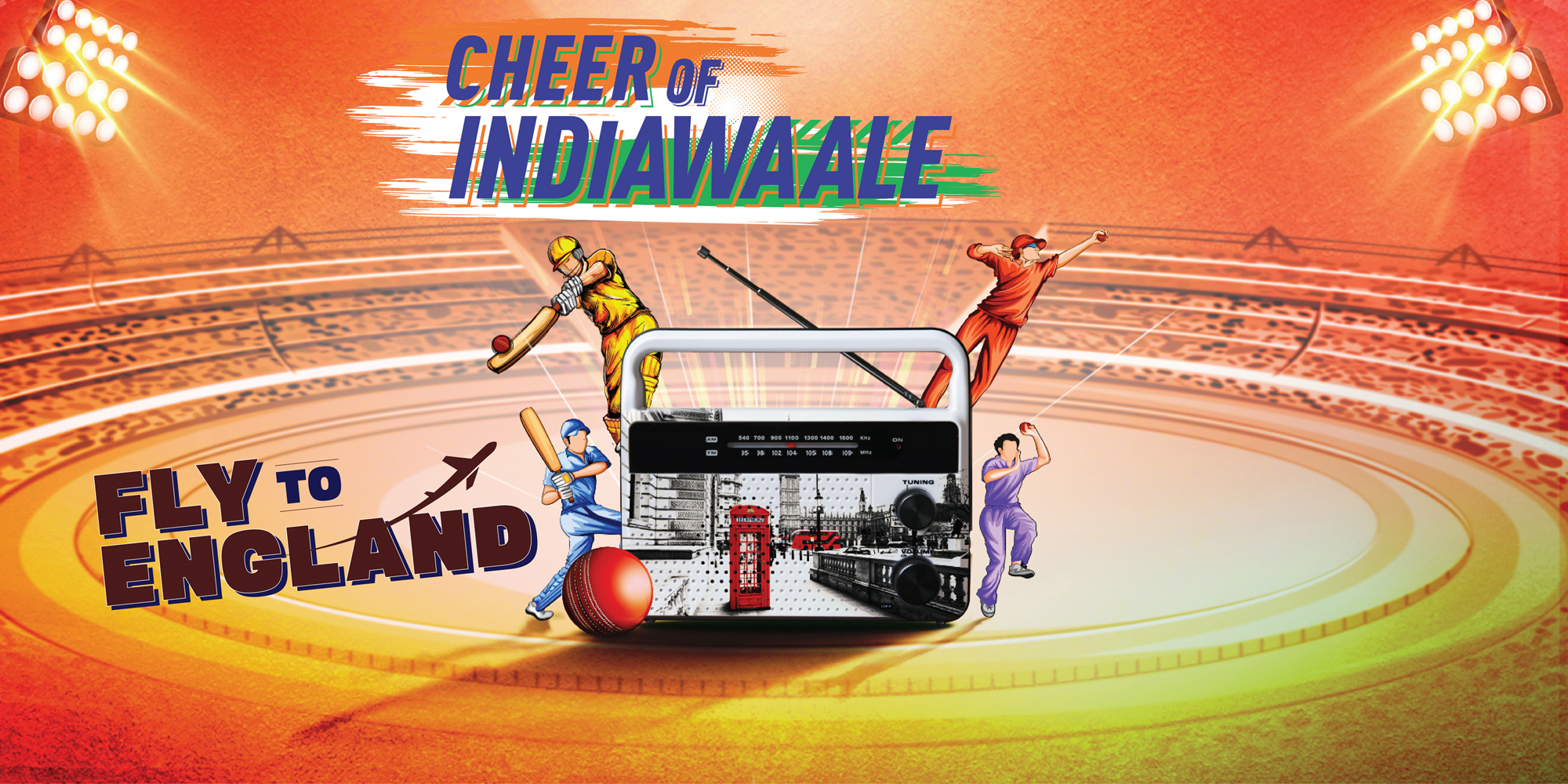 Cheer of Indiawaale Fly To England